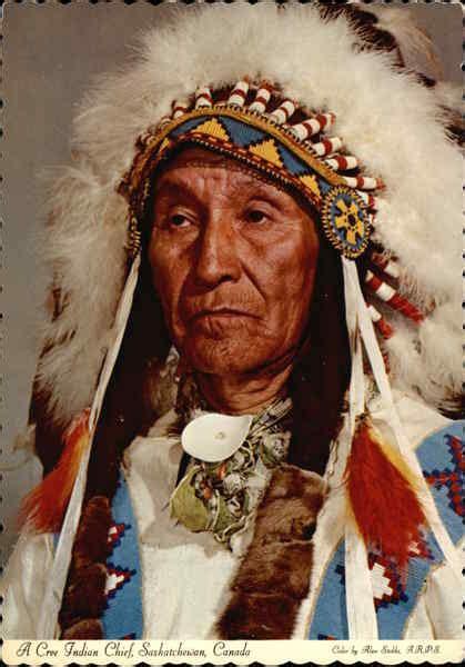 cree indian chief saskatchewan canada native americana
