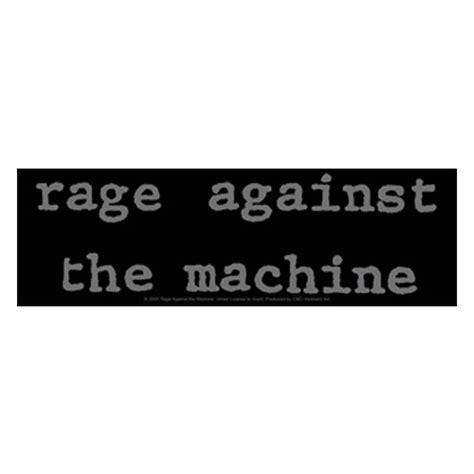 Rage Against The Machine Belt rage against the machine logo sticker