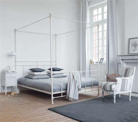 letto baldacchino maison du monde da letto moderna con i letti a baldacchino