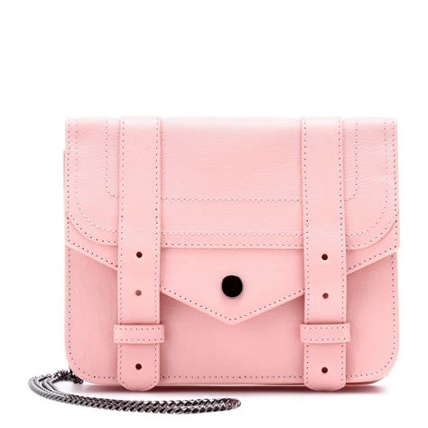 Proenza Pink by Proenza Schouler Ps1 Large Chain Leather Shoulder Bag In