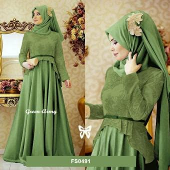 Set 4 In 1 Gamis Tosca cari harga flavia store maxi dress lengan panjang set 2 in