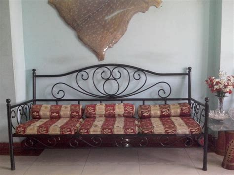 price of wrought iron sofa set exclusive wrought iron sofa set with divan and center