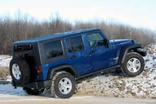 review 2009 jeep wrangler unlimited rubicon 4x4 autoblog