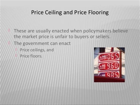 Price Floor Price Ceiling by Effect Of Price Floor And Ceiling On Agriculture
