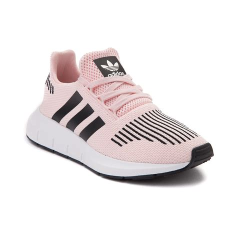 youth adidas run athletic shoe pink 1436343