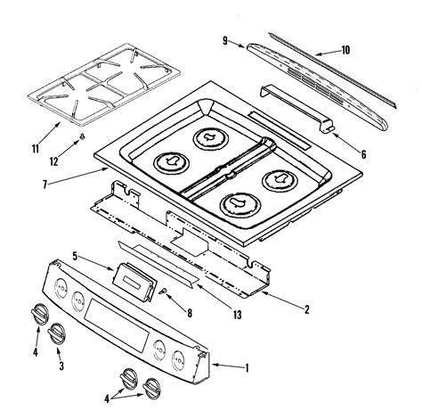 jenn air parts diagram jenn air jennair cooking parts model jgs8750bdw sears