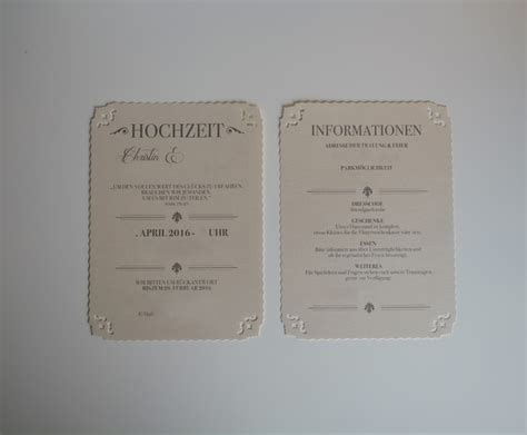 Hochzeitseinladung Zum Rausziehen by Vintage Hochzeitseinladung Diy Vintaliciously Vintage
