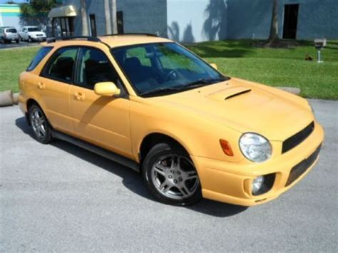 yellow subaru wagon find used wrx turbo rare wagon 5 speed manual yellow over