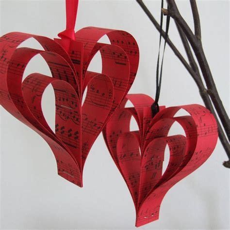 Handmade Hearts Crafts - handmade sheet decoration by re made