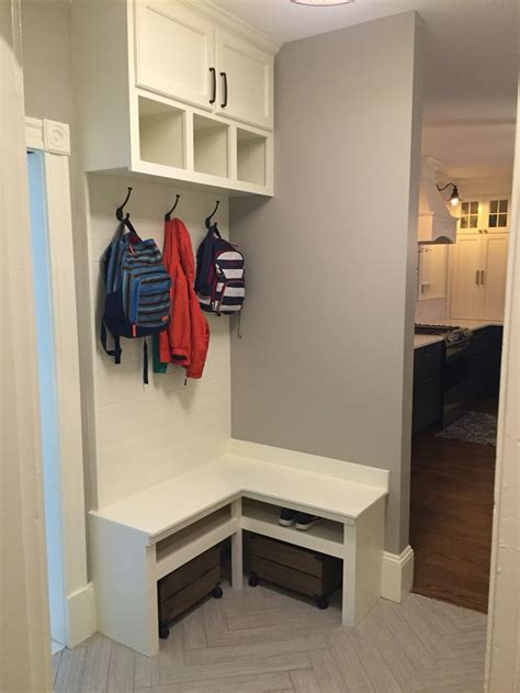 small mudroom bench corner bench mudroom built in small mudroom home sweet