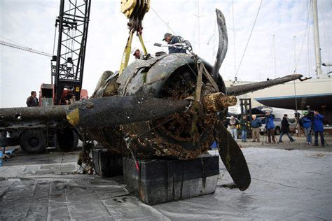 How Could Win World War Ii wwii plane retrieved from lake michigan at waukegan harbor