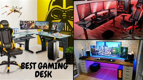 best desk for gaming 25 best gaming desks updated see this before you buy