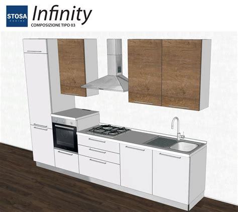 cucina a stosa cucine infinity bloccata cucine a prezzi scontati