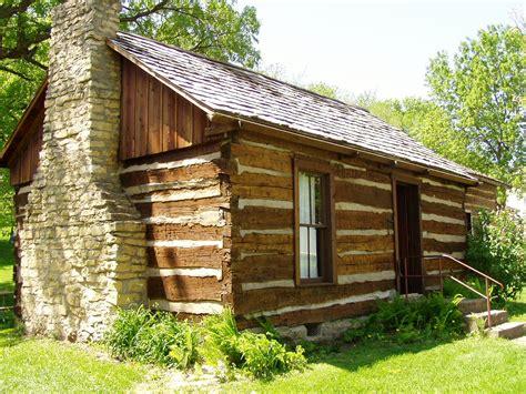 Pioneer Cabin by Tobin Cabin County Iowa
