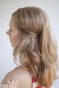 two easy ways to pin back your hair hair