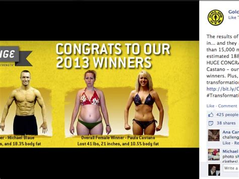 golds fitness challenge st peters wins gold s contest by losing 40