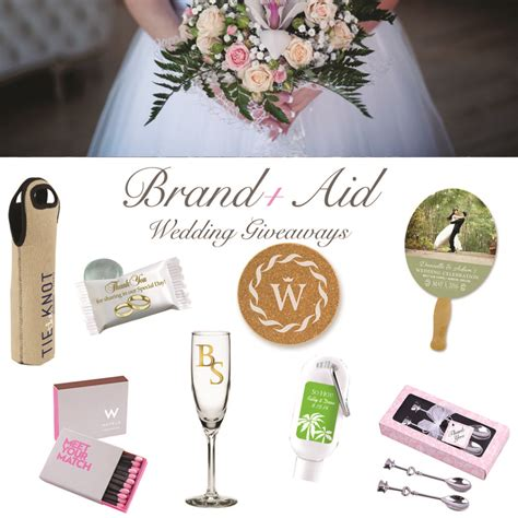 Popular Giveaway Items - the best wedding giveaways for 2018 brand aid