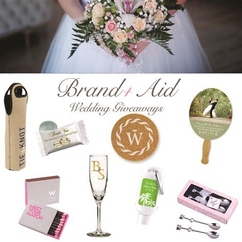 The Best Wedding Giveaways for 2018   Brand Aid