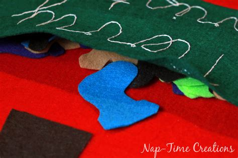 felt christmas tree growth chart a no sew project nap