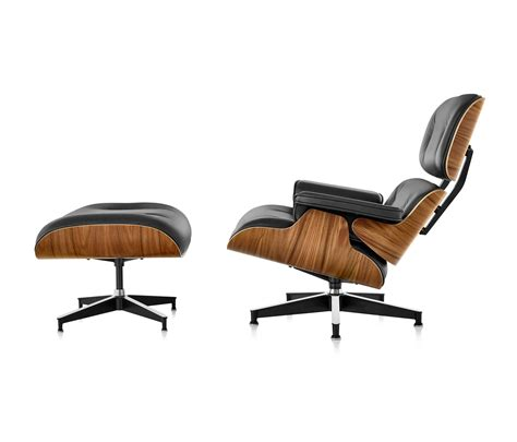 Eames Lounger And Ottoman by Eames Lounge Chair And Ottoman Lounge Chairs From Herman