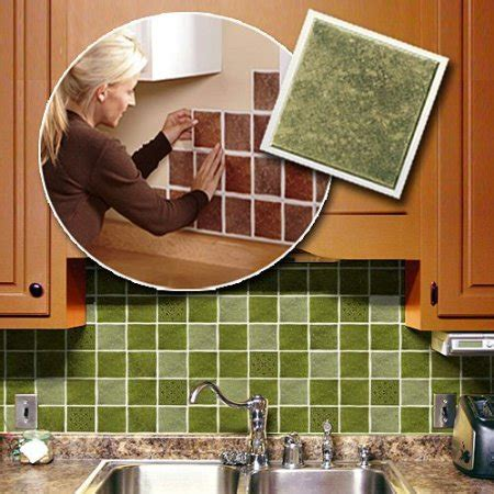 self stick kitchen backsplash tiles peel and stick backsplash ideas for your kitchen decozilla