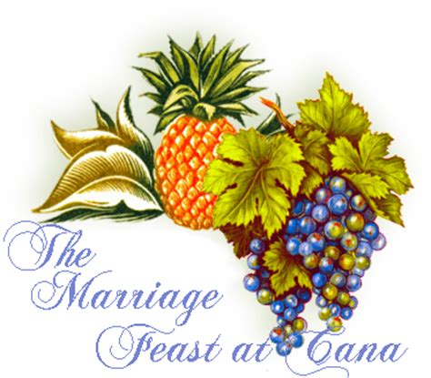 Wedding Feast Cana Catholic Commentary by The Marriage Feast At Cana