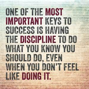 Discipline Key To Success An Essay On It by Discipline Key To Success