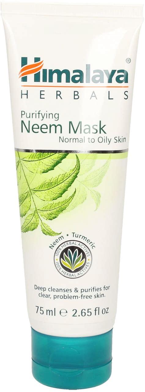 Masker Himalaya Herbal neem mask 75 ml ayurveda 101 shop uk