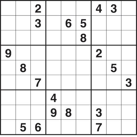 Sudoku 2 691 Hard Life And Style The Guardian