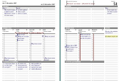 Galerry printable daily subject planner