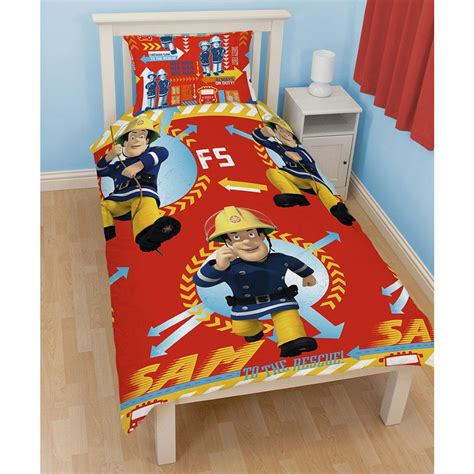 firefighter bed new fireman sam bedroom accessories bedding furniture