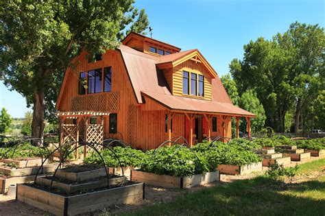 barn wood home great plains gambrel project lbr roof pole homes