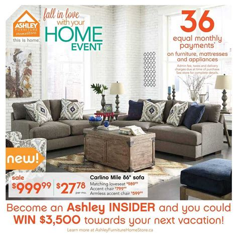 furniture homestore west flyer september 2 to 15