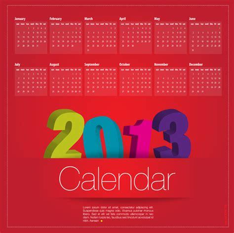 creative calendar design hd creative calendar grids 2013 design vector 04 over