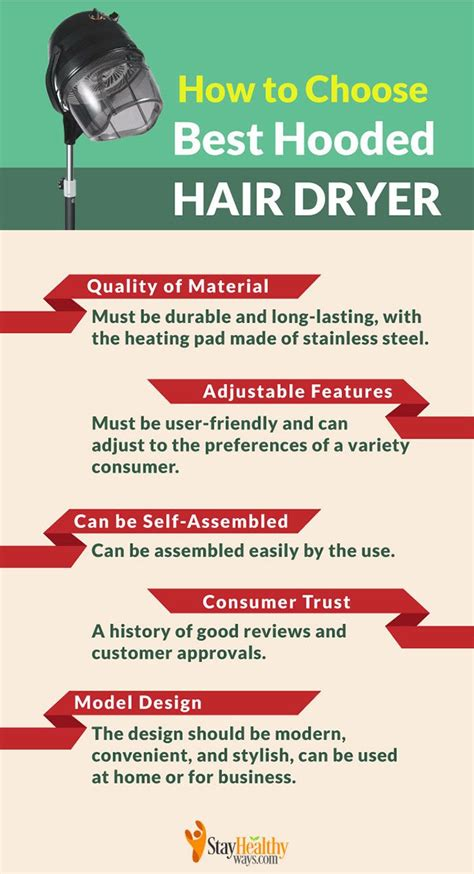 Hair Dryer How To Choose the best hooded hair dryer 2018 style quickly look pretty
