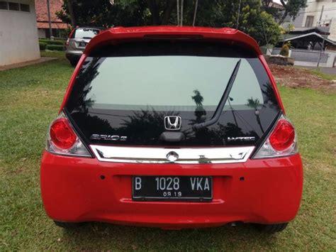 Honda Brio 1 2 At 2014 brio e at 1 2 2014 merah mobilbekas