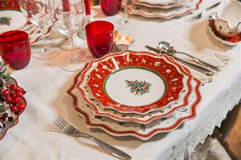 tavolo natale come apparecchiare la tavola per natale