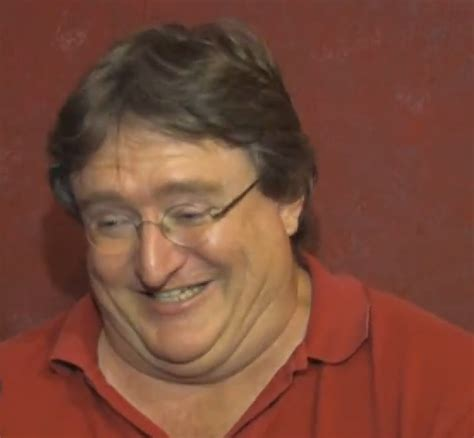 gabe newell biography com grinning gabe gabe newell know your meme