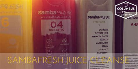 Samba Fresh Detox by Juice Cleanse Sambafresh New Albany Columbus Culinary