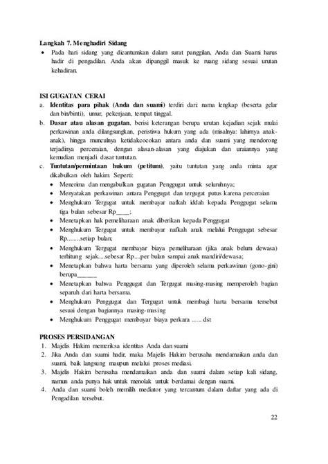 Contoh Surat Kuasa Istimewa Ikrar Talak - Kumpulan Contoh