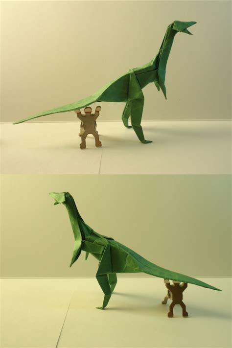 Origami Velociraptor - origami raptor by flamekurosei on deviantart