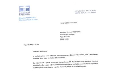 Exemple De Lettre De Demission Adjoint Au Maire Exemple De Demande D Explication A Un Employe