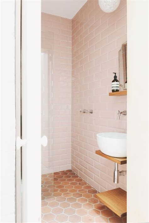 honeycomb tile bathroom the 50 best images about blush pink interior inspiration