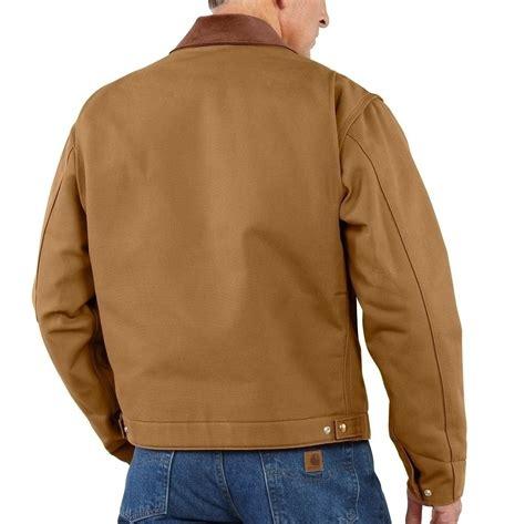 carhartt ej001 duck detroit jacket mammothworkwear