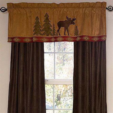 Curtains For Cabins Moose Lodge Window Treatments Cabin Place