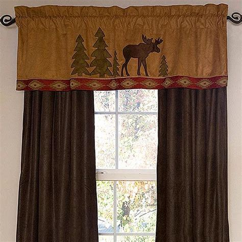Moose Lodge Window Treatments: Cabin Place