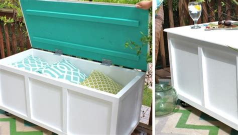 Easy Diy Bench With Storage