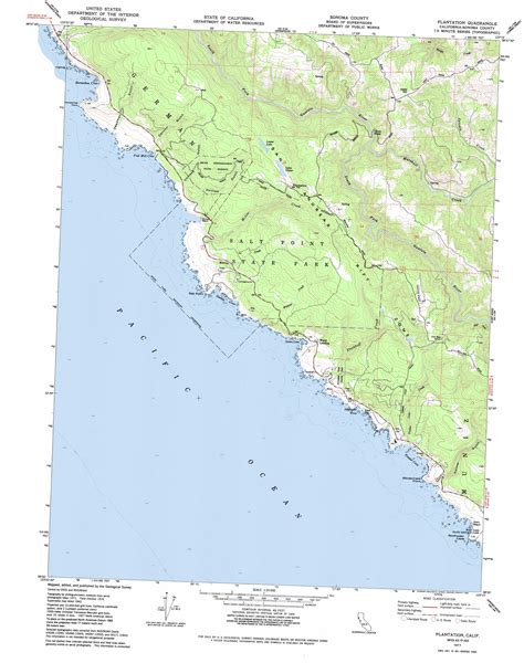 california map high resolution plantation topographic map ca usgs topo 38123e3