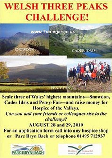 three peaks challenge wales tredegar forum three peaks challenge