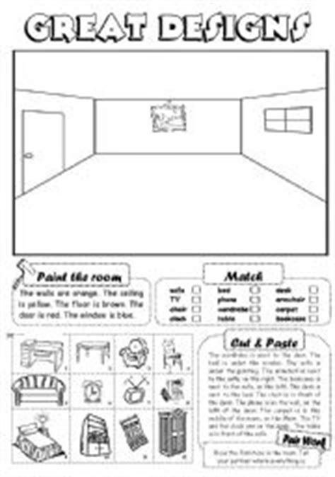 house design games english english teaching worksheets furniture